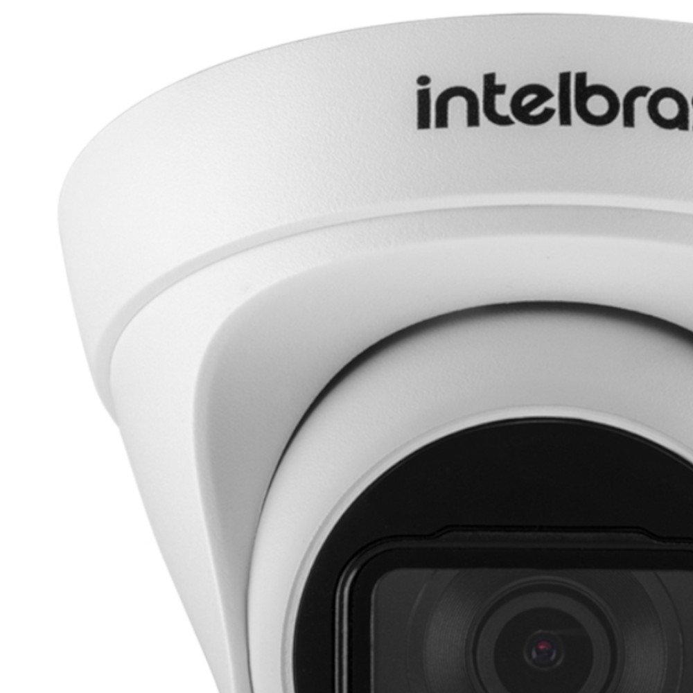 Câmera de Segurança Dome 30 Metros 3,6mm 4 MP IP VIP 3430 D - Imagem zoom