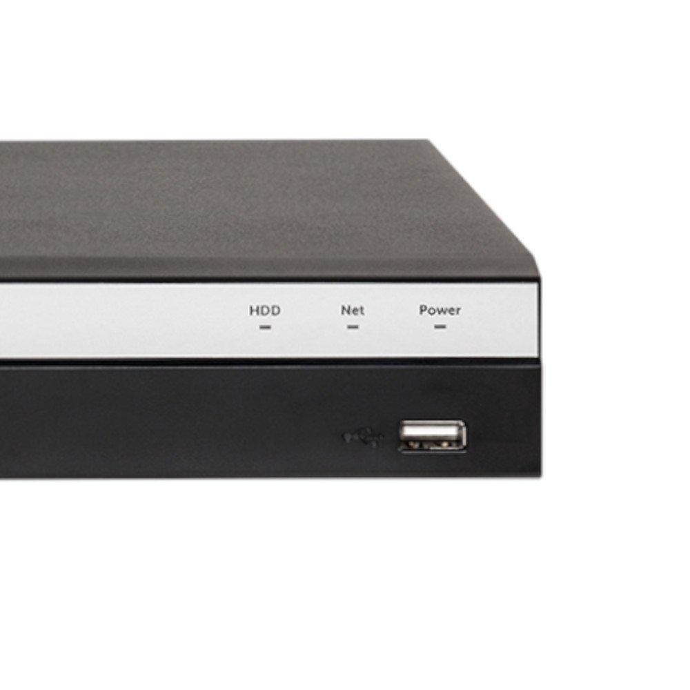 Gravador Digital de Vídeo Multi HD Stand Alone 16 Canais BNC + 8 Canais IP MHDX 3116 - Imagem zoom