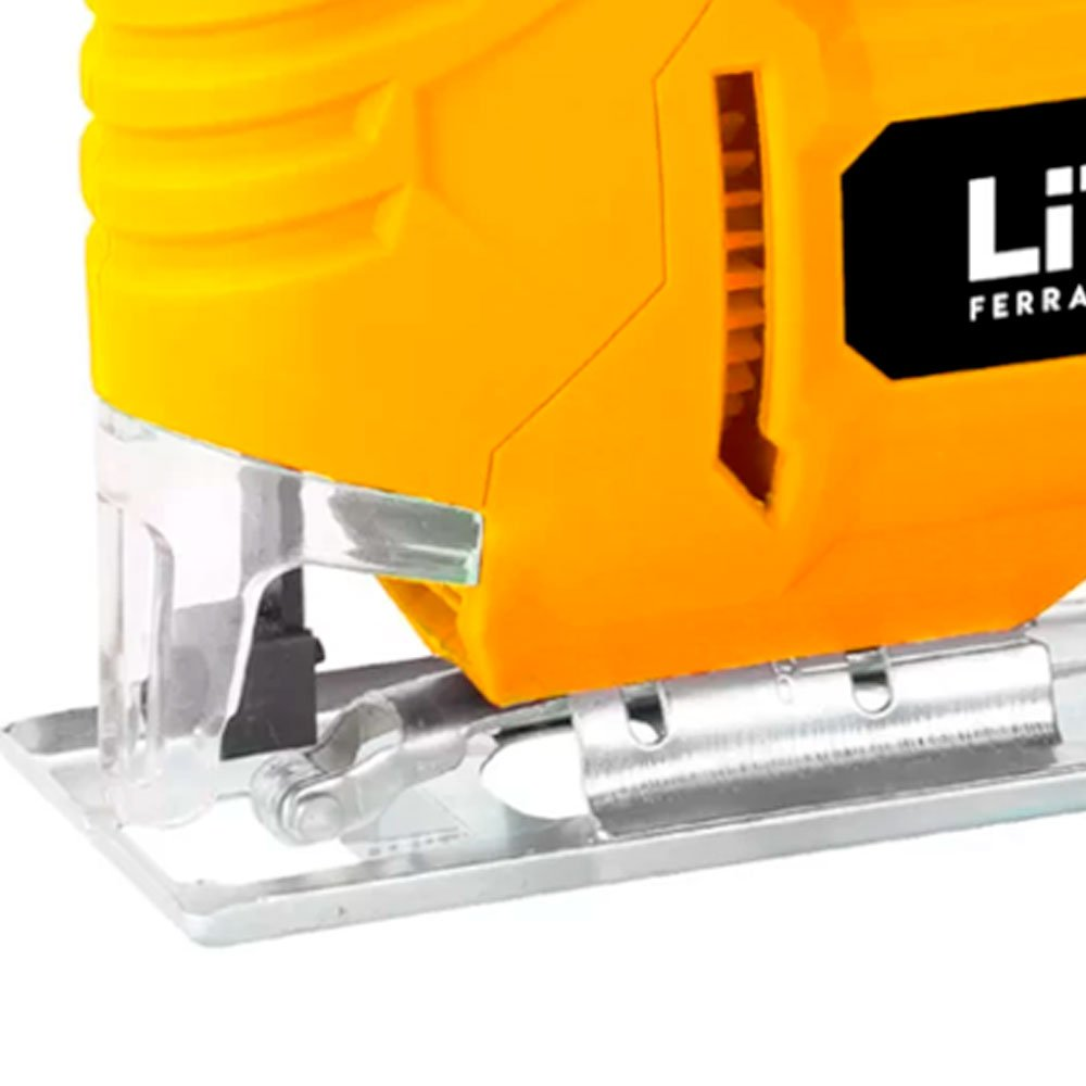 Kit Serra Tico-Tico LITH LT8037 400W  + 6 Álcool em Gel NUTRIEX 64311 Isopropílico 70% - Imagem zoom