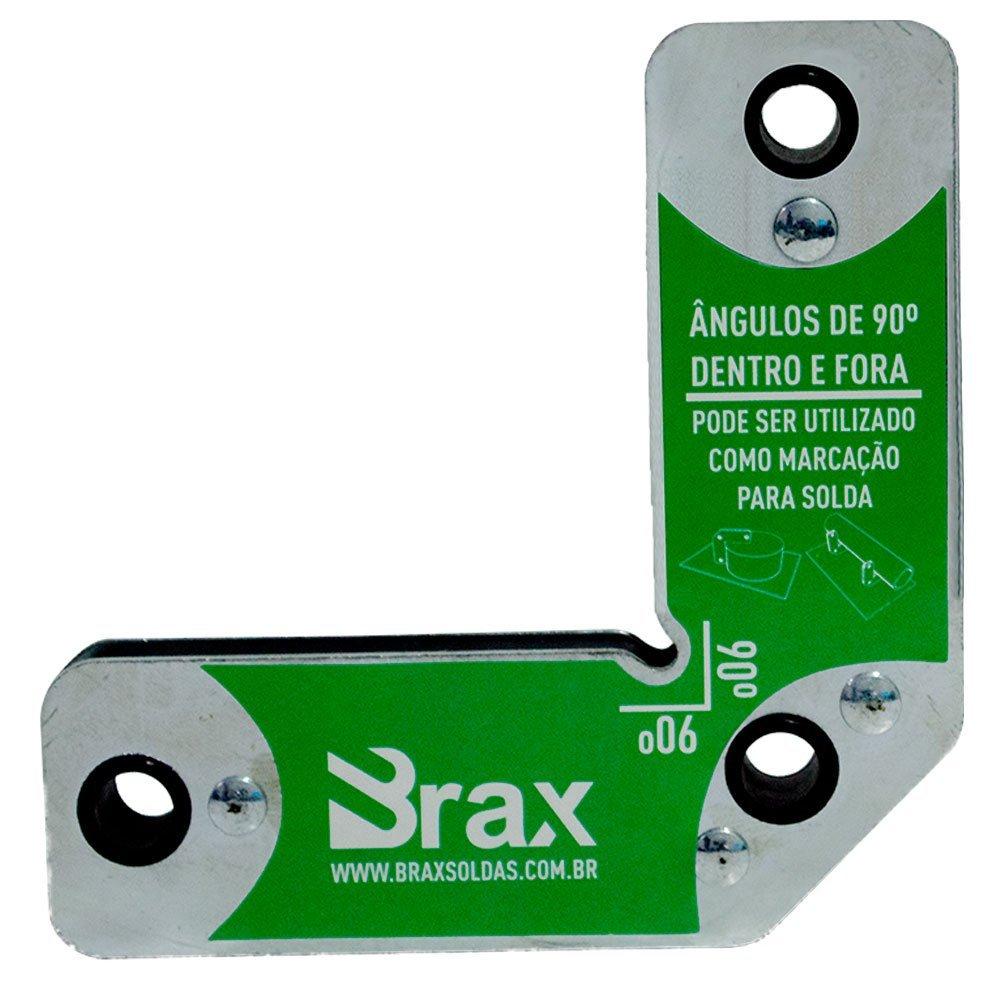Kit Maquina de Solda MIG 250A  V8 Brasil 110473 + Máscara Solda Titanium 5496 + Esquadro Magnético 7kg Brax 32052 + Luva de Soldador com Cano Longo 20cm Proteplus PPM13 - Imagem zoom