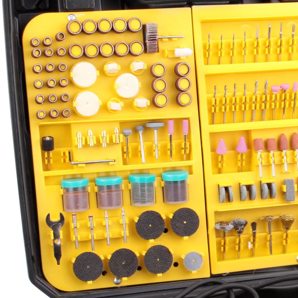 Micro Retifica 130W 60HZ 110V  com 230 Acessórios  - Imagem zoom