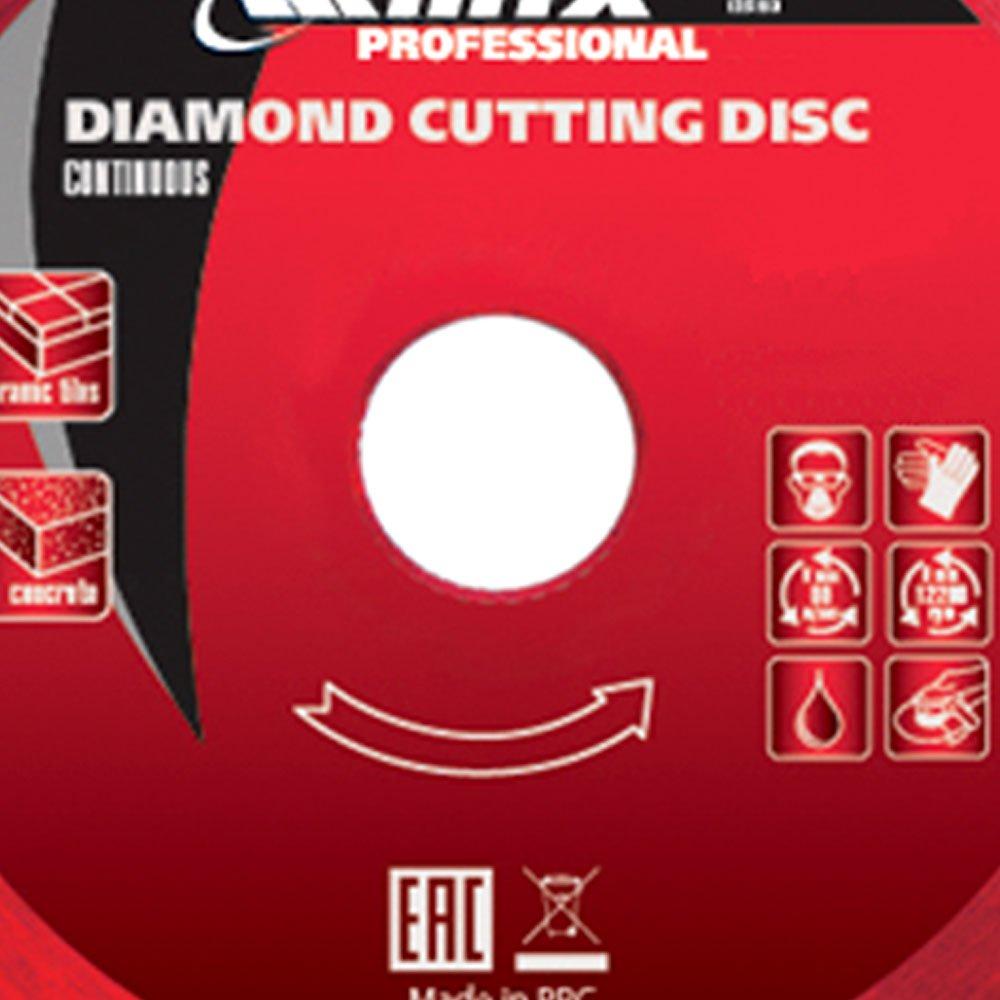 Disco de Corte Diamantado Contínuo 115 x 1,8 x 22,2mm  - Imagem zoom