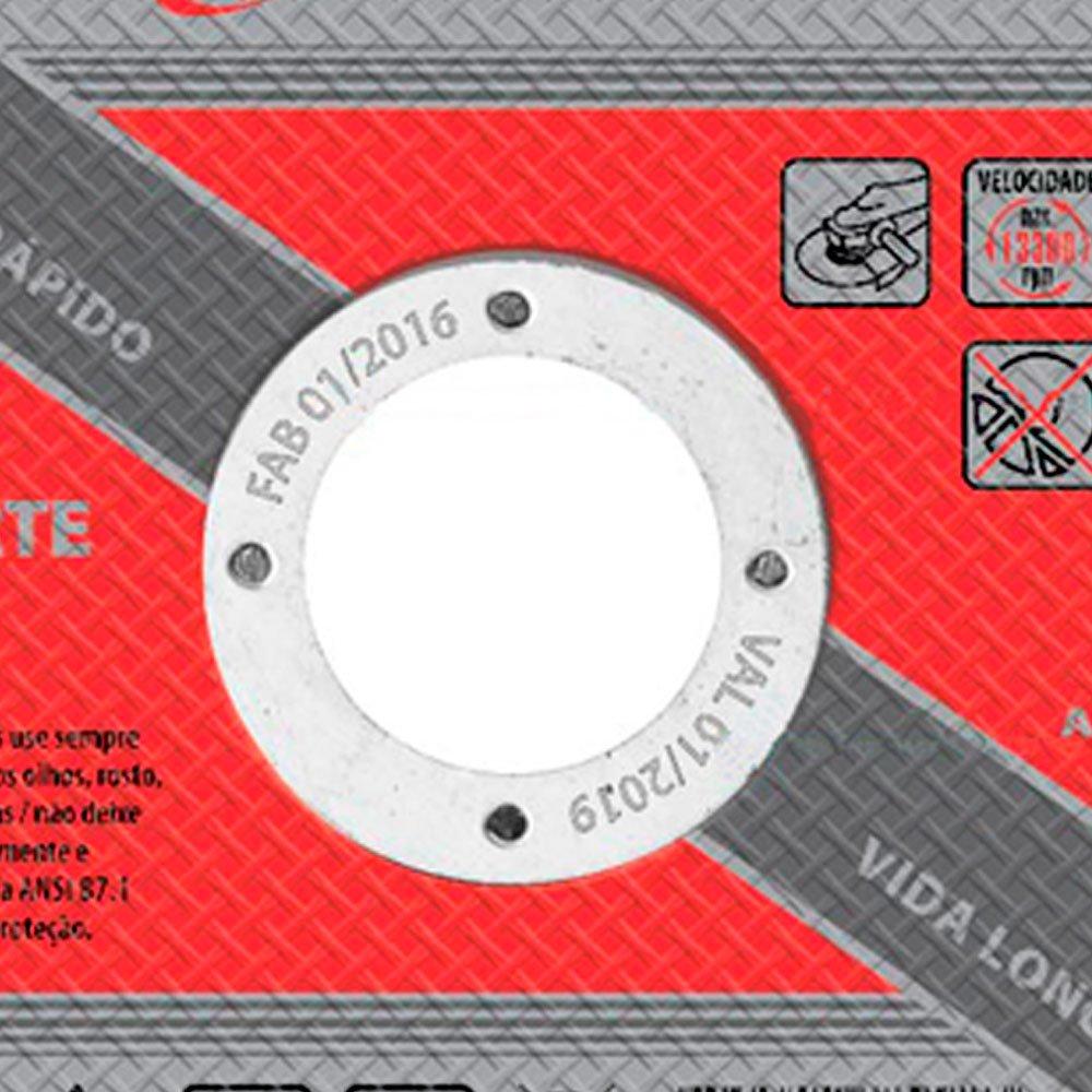 Disco de Corte 115X1,6X22mm para Metal  - Imagem zoom