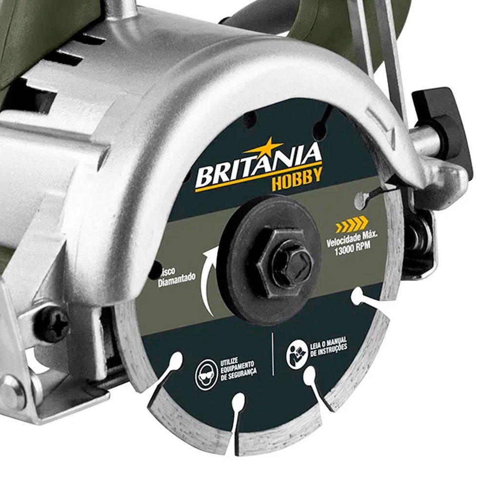 Serra Marmore 4.3/8 Pol. 1300W 110V - Imagem zoom