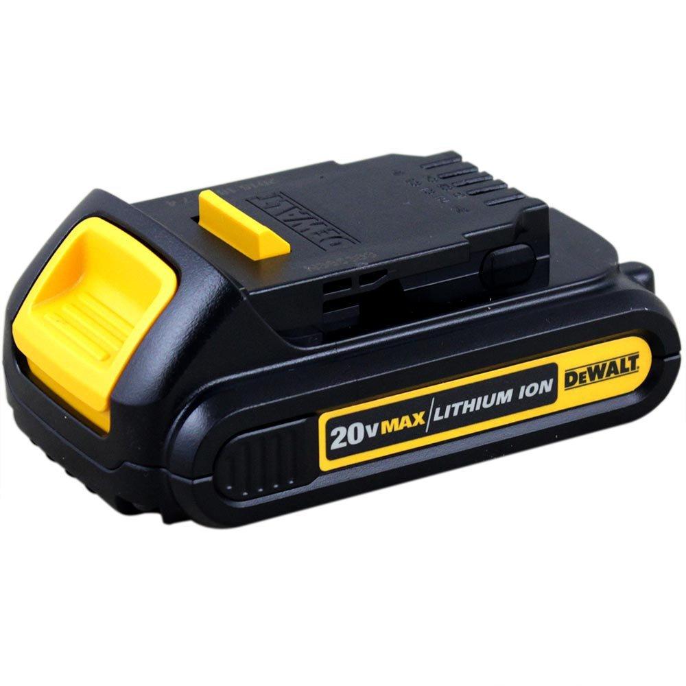Kit Parafusadeira/Furadeira com Impacto DEWALT-DCD776LC 1/2 Pol. com Carregador + 2 Baterias DEWALT-DCB207-B3 20V Max Li-Ion Compact 1,3Ah - Imagem zoom