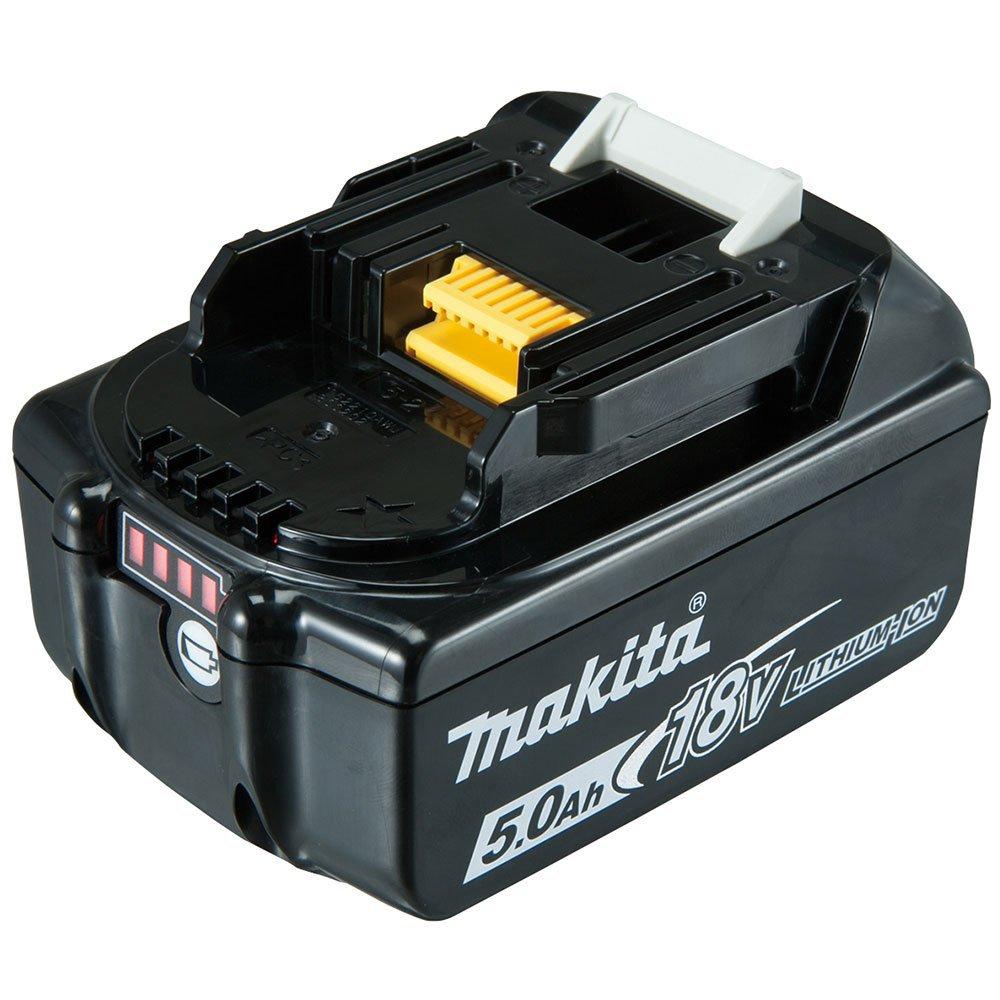 Kit Parafusadeira/Furadeira com Impacto MAKITA-DHP453X10 18V Lítio com Carregador Bivolt + Bateria Íons Lítio MAKITA-BL1850B 5.0 Ah 18V - Imagem zoom