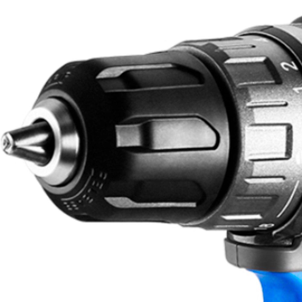 Parafusadeira/Furadeira Brushless com 2 Baterias 20V Li-Ion 3/8 Pol. 42Nm e Maleta - Imagem zoom