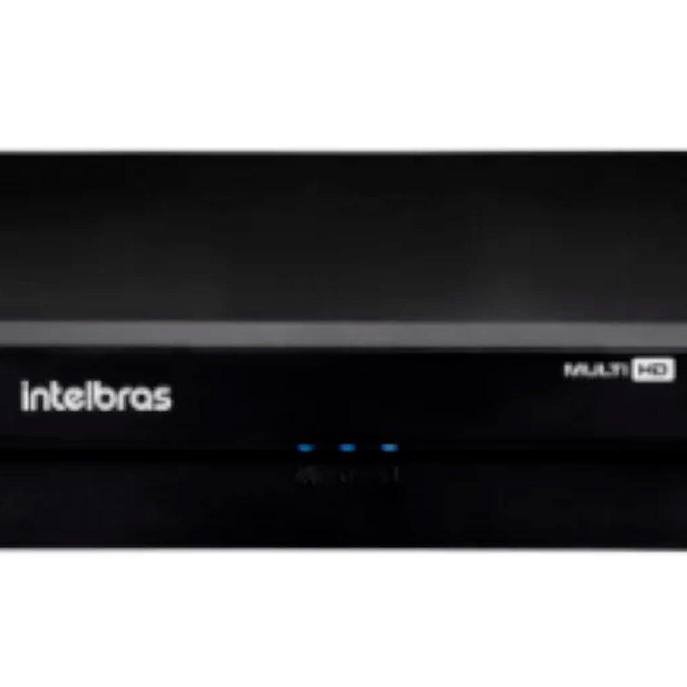 Kit Gravador Digital de Vídeo MHDX INTELBRAS-4580326 + Câmera Infra 1120 D Multi HD VHD - INTELBRAS-4565298 - Imagem zoom