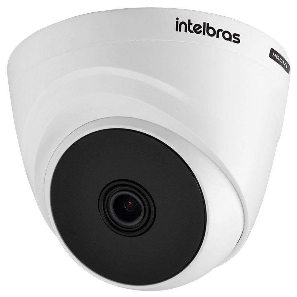 Kit Gravador Digital de Vídeo Multi HD - INTELBRAS-4580327 + Câmera Infra Dome HDCVI LITE 20mm - INTELBRAS-4565303 - Imagem zoom