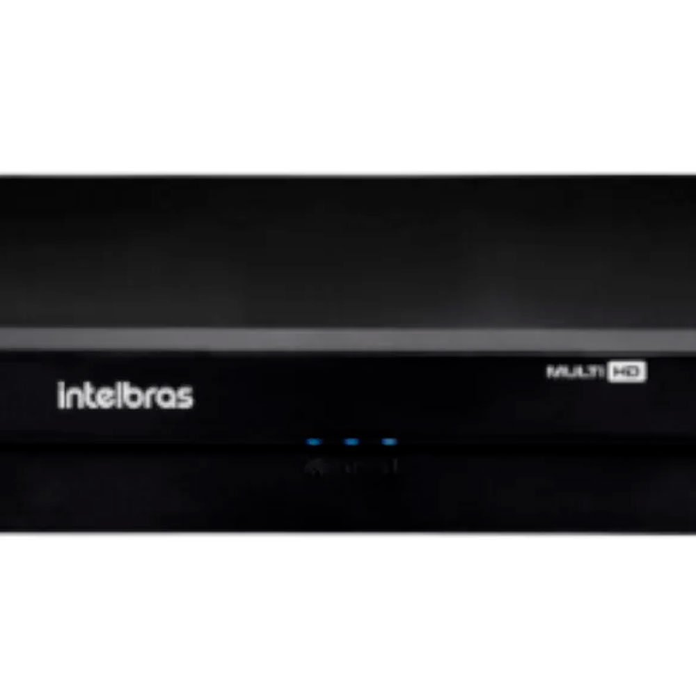 Kit Gravador Digital de Vídeo Multi HD - INTELBRAS-4580327 + Câmera Infra 1120 D Multi HD VHD 2,8mm 20m - INTELBRAS-4565298 - Imagem zoom