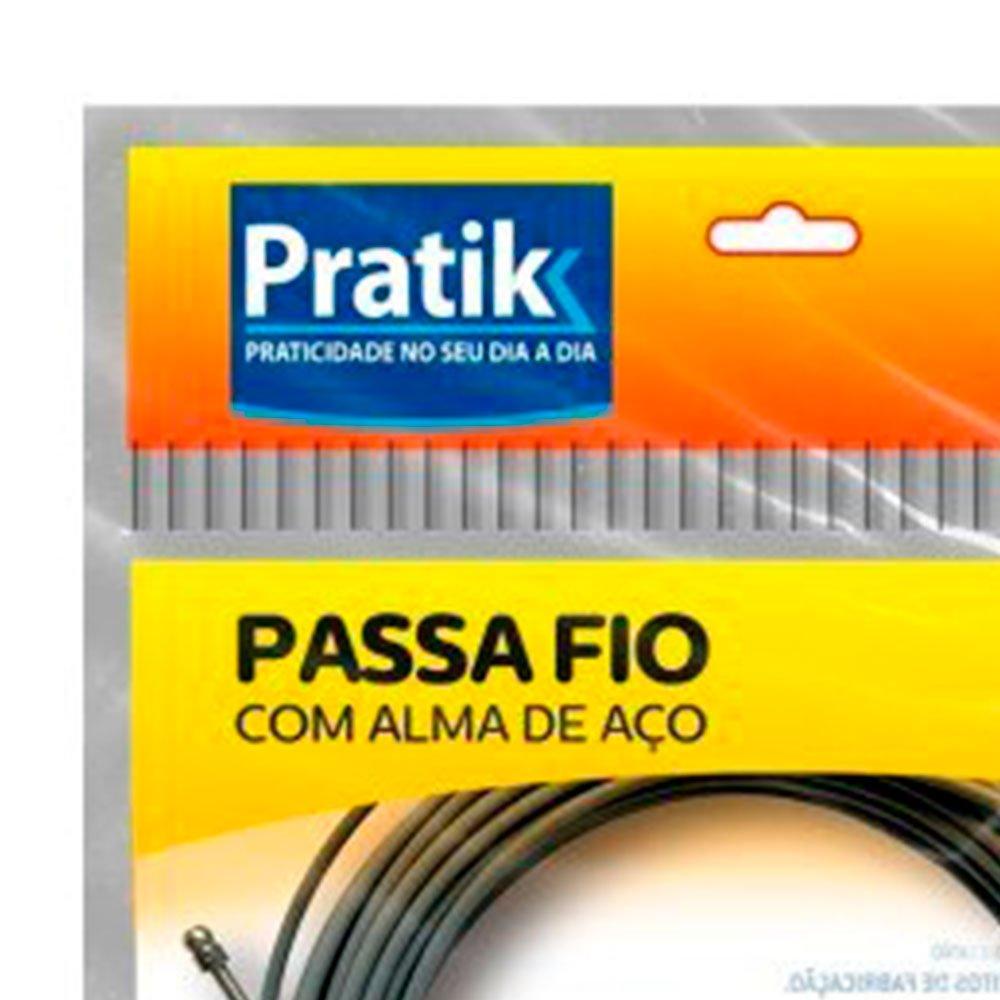 Passa Fio de Aço Sextavado 10m  - Imagem zoom