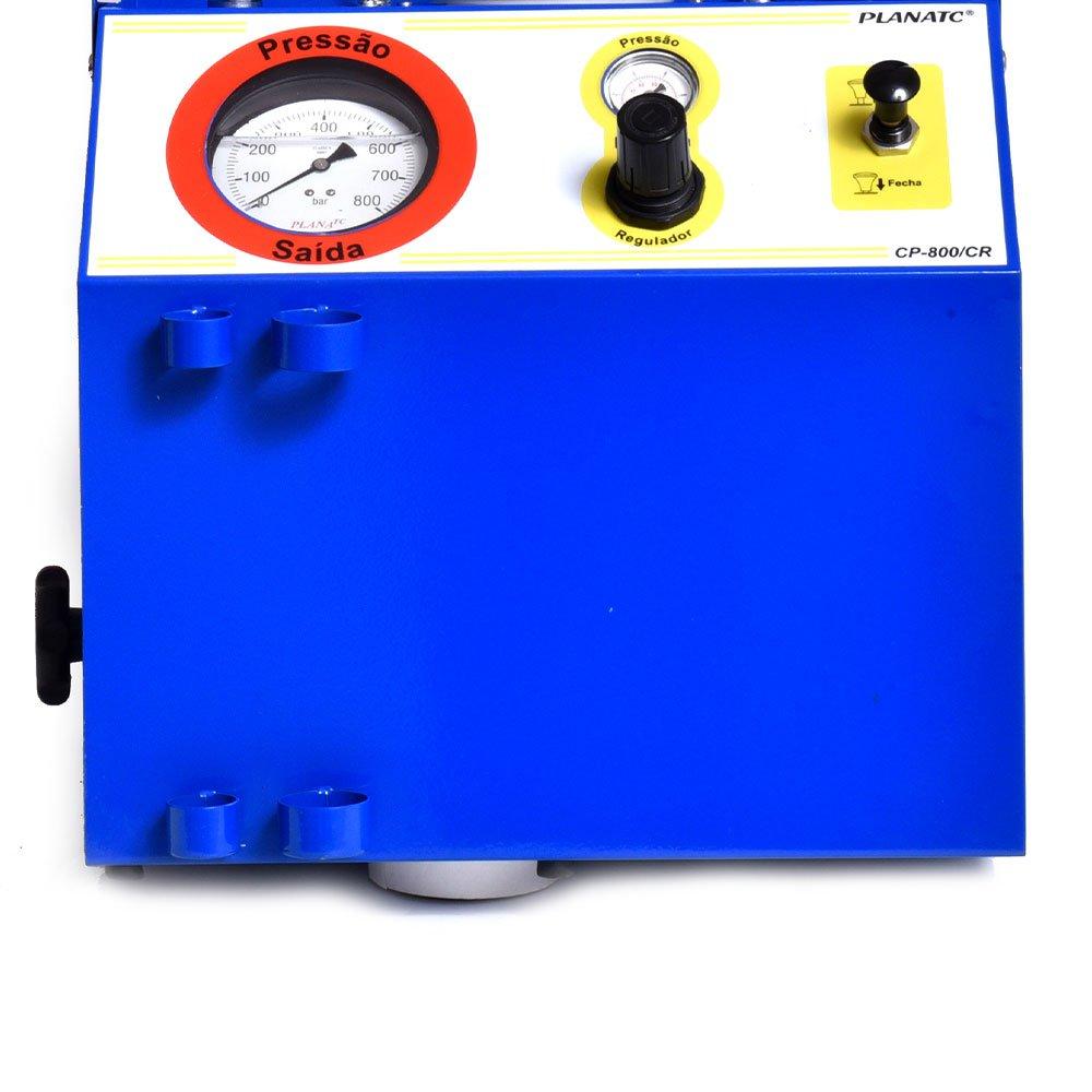 Teste de Injetor Diesel Pneumático 12 e 14mm 10Bar a Ar Comprimido  - Imagem zoom