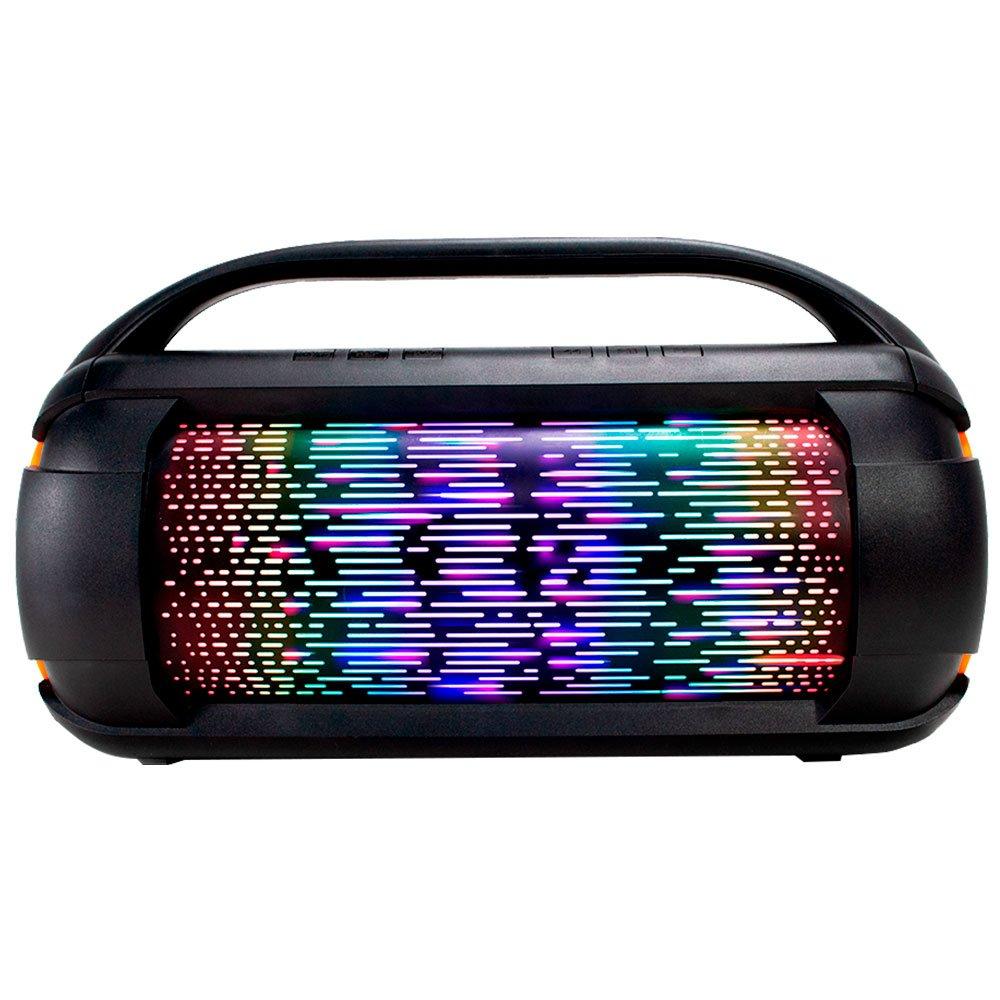 Caixa de Som Preta Portátil 60W com Bluetooth a Bateria - Imagem zoom