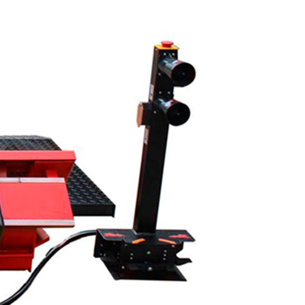 Desmontadora Eletrohidraúlica Vermelha de 14 Pol. a 56 Pol. Trifásica 220V - Imagem zoom