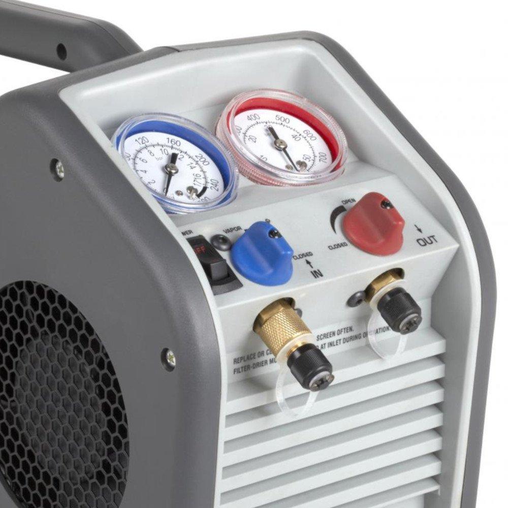 Máquina de Recuperação de Fluido Refrigerante 1/3HP  - Imagem zoom
