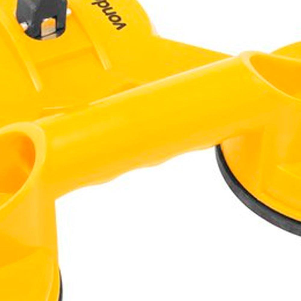 Ventosa Tripla em Plástico ABS 75Kg  - Imagem zoom
