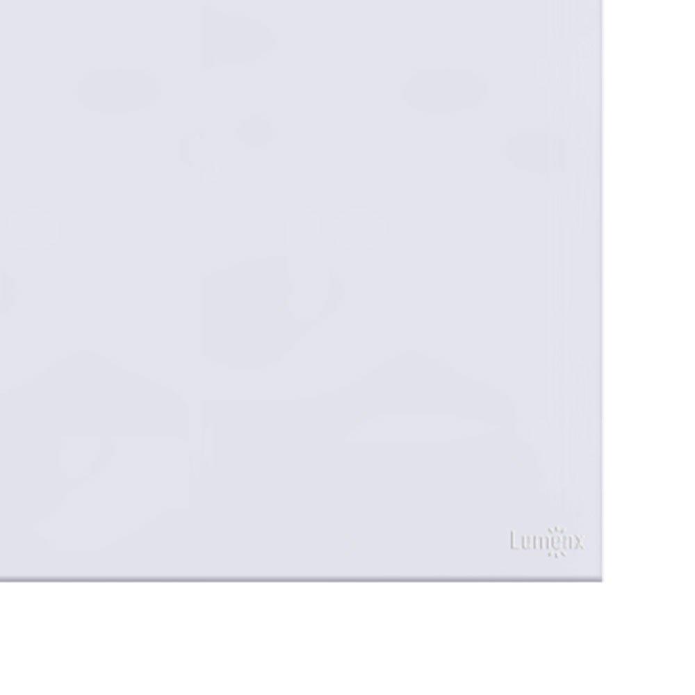Placa Cega em Acrílico Branco 4x4  - Imagem zoom