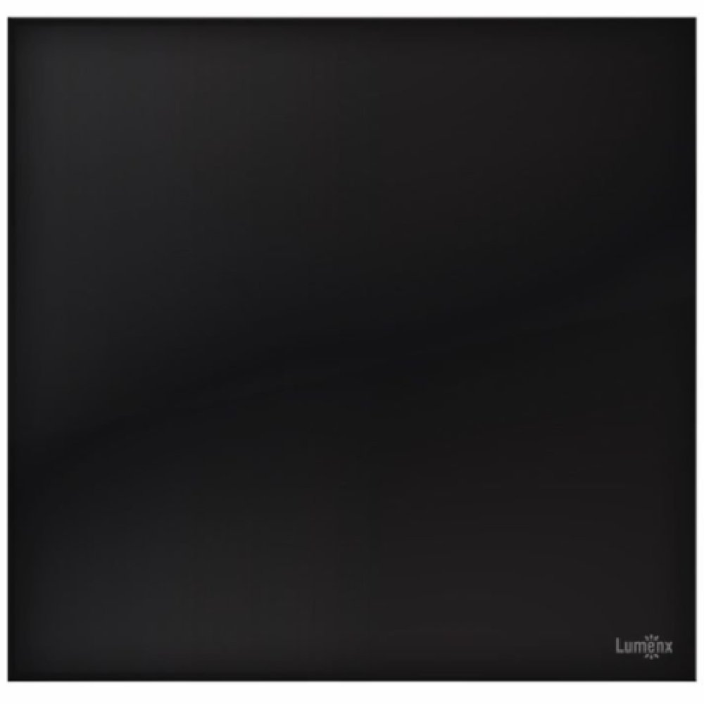 Placa Cega Glass em Acrílico Preto 4 x 4 - Imagem zoom