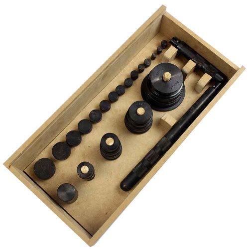jogo de ferramentas para instalação de rolamentos com 30 peças