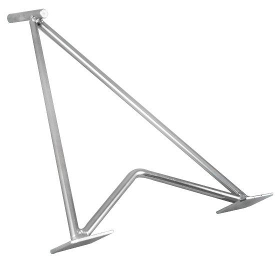 Cavalete para Descanso Lateral de Motos Pino de 11mm  - Imagem zoom