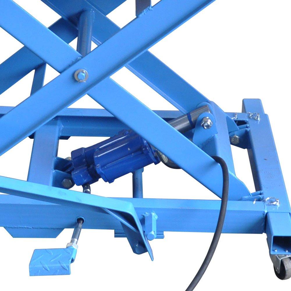 Elevador Pneumático 350kg para Motocicletas - Imagem zoom