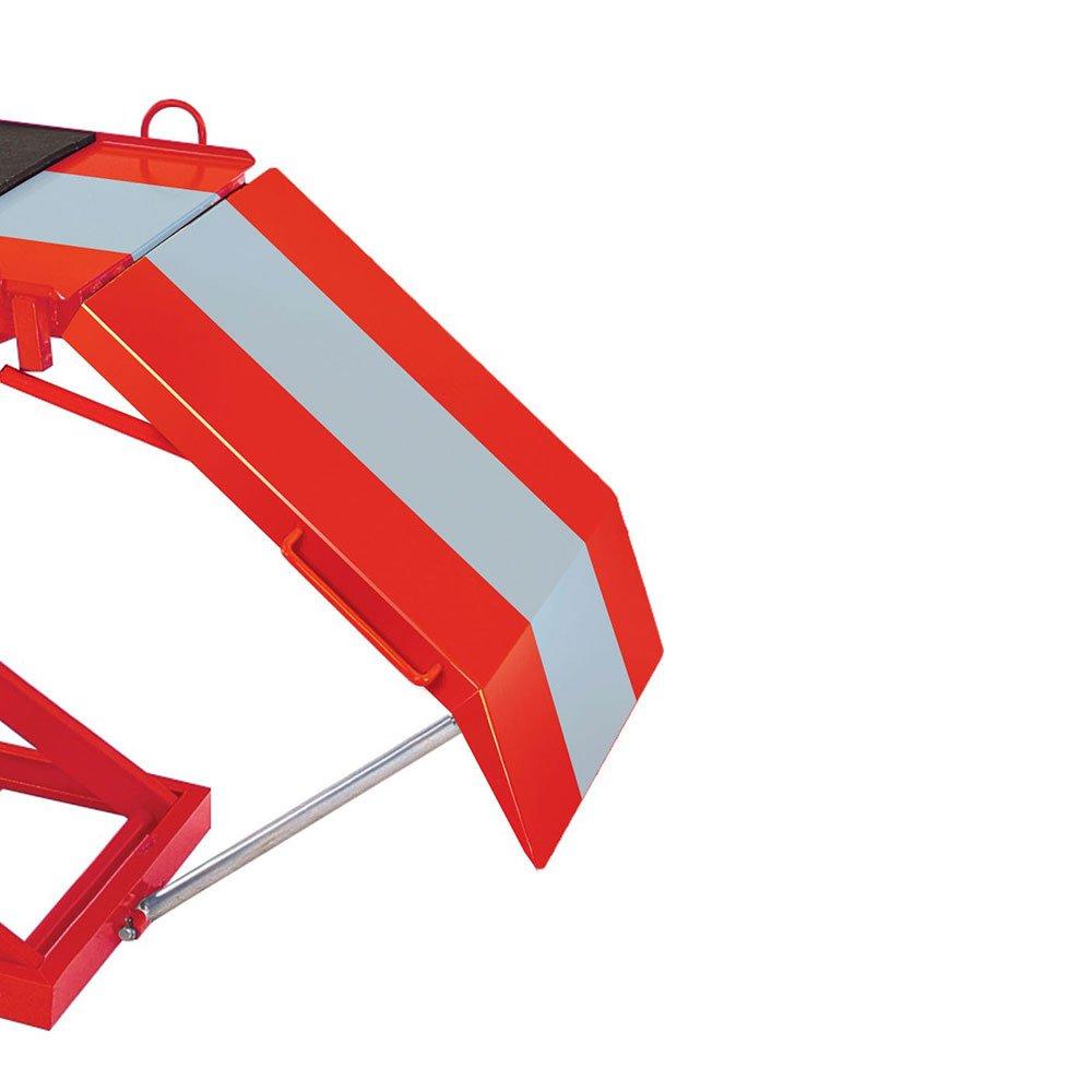 Elevador Pneumático para Motos 350kg SP300 Vermelho/Cinza - Imagem zoom