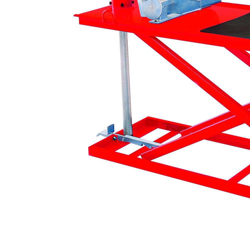 Elevador Pneumático para Motos 350Kg SP300 Vermelho - Imagem zoom