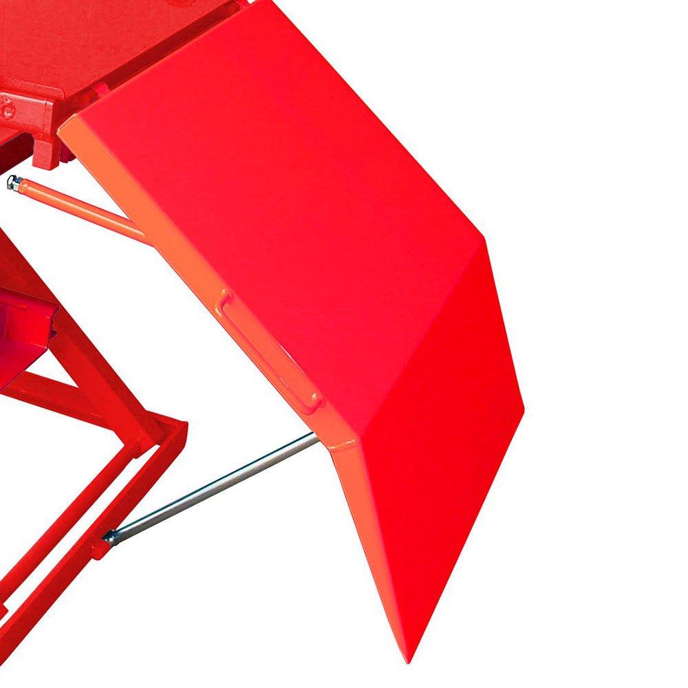 Elevador Pneumático para Motos 500Kg SP500 Vermelho - Imagem zoom