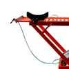 Rampa Pneumática Pit Stop 2 Pistões para Moto 350Kg Vermelha - Imagem 2