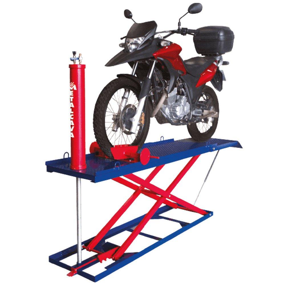 Elevador Pneumático para Motos 350kg - Imagem zoom