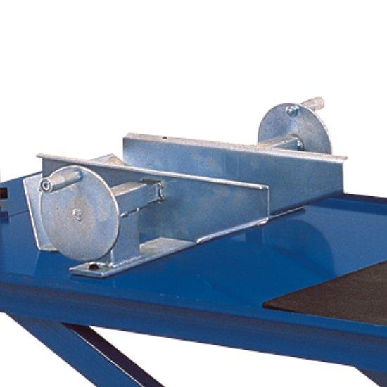 Rampa Para Motos Pneumático com Capacidade 300kg Azul/Amarelo - Imagem zoom