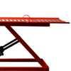 Rampa Pneumática Pit Stop Vermelha 2 Pistões para Motos 350Kg - Imagem 4