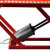 Rampa Pneumática Pit Stop Vermelha 2 Pistões para Motos 350Kg - Imagem 5