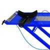 Rampa Pneumática Pit Stop Azul 1 Pistão para Motos 250 Kg  - Imagem 2
