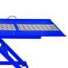 Rampa Pneumática Pit Stop Azul 1 Pistão para Motos 250 Kg  - Imagem 5