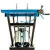 Elevador/Rampa Pneumática para Moto 350Kg - Azul - Imagem 2