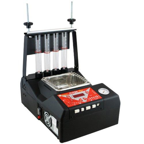 máquina de limpeza e teste de bico multijet pro 4 moto