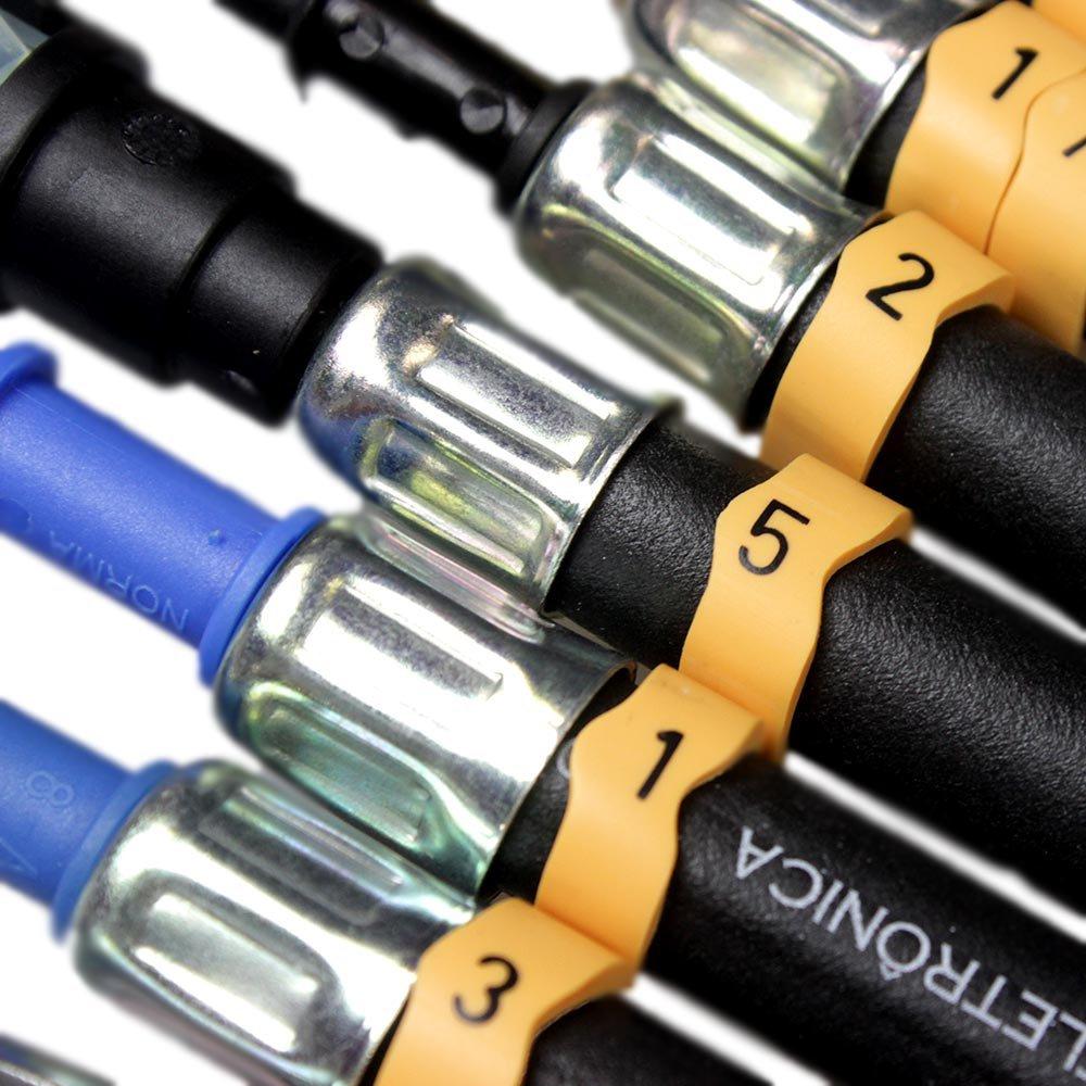 Teste de Pressão de Bomba de Combustível para Motos com 11 Mangueiras - Imagem zoom