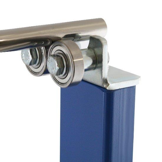Balanceador Estático de Rodas Azul  - Imagem zoom