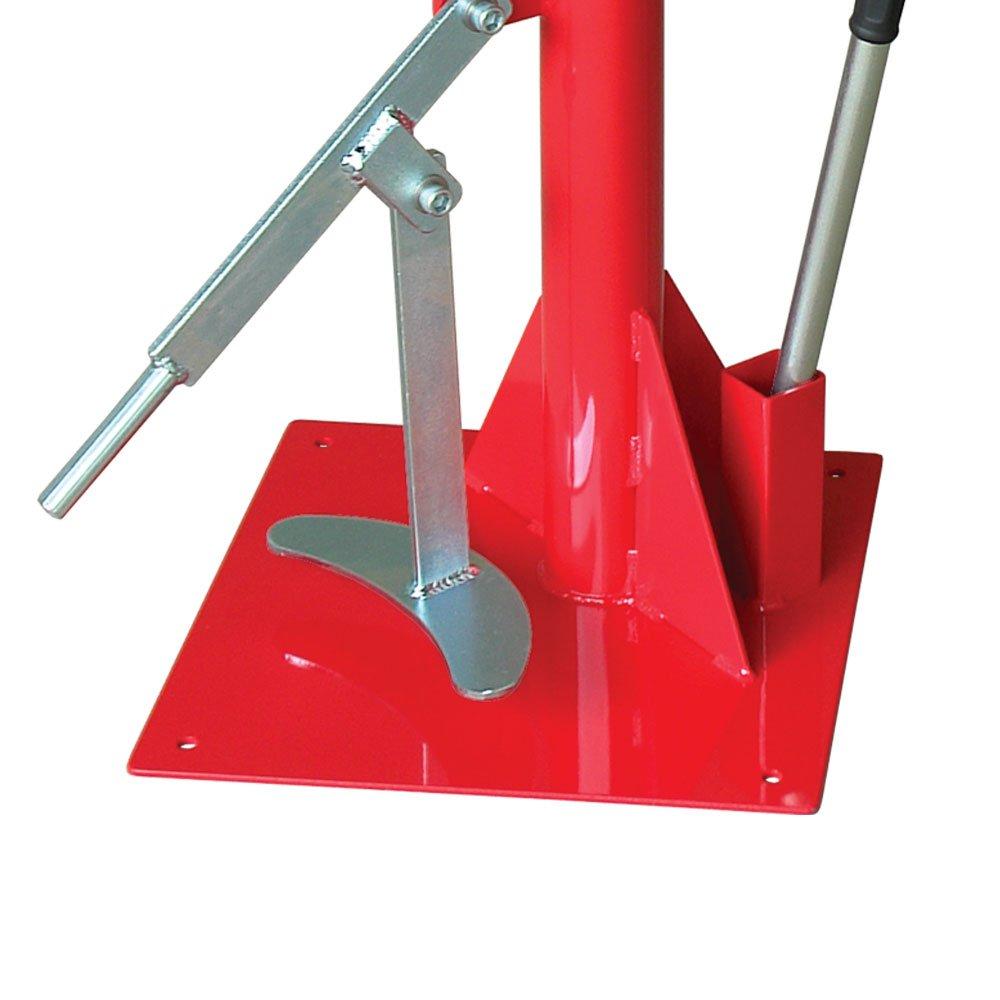 Desmontadora e Montadora de Pneus Manual para Motos Vermelha - Imagem zoom