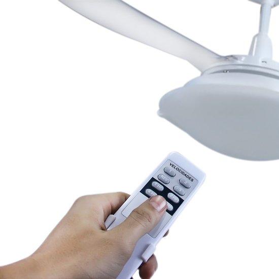 Ventilador de Teto com Controle Remoto Sunny  3 Pás  - Imagem zoom