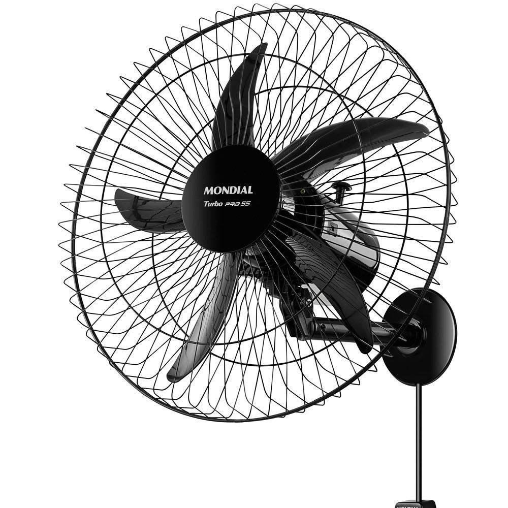 Ventilador de Parede Turbo Pro 55cm 125W Bivolt - Imagem zoom