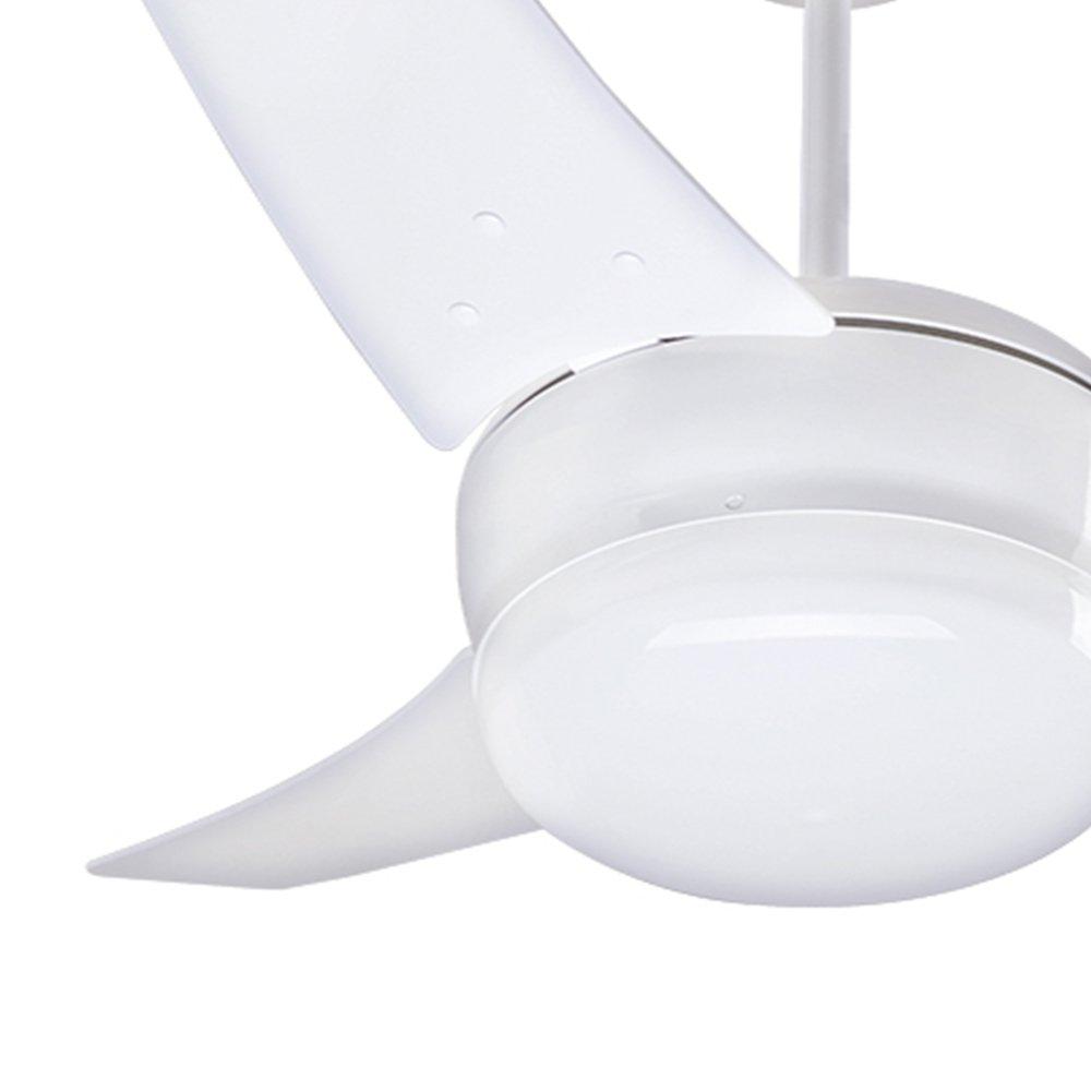 Ventilador de Teto com 3 Pás Brancas  - Imagem zoom
