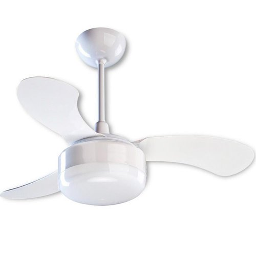 ventilador de teto branco 3 pás 130w 220v petit