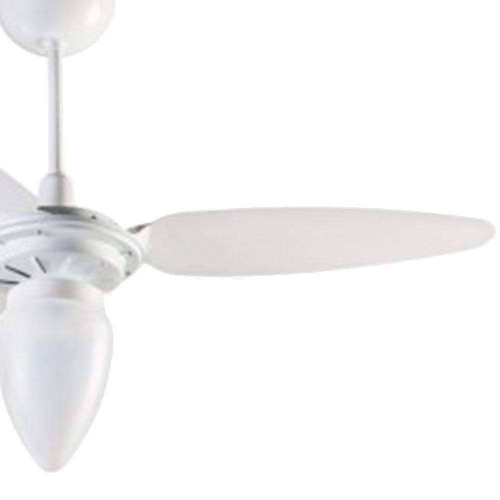 Ventilador de Teto 3 Pás Brancas  Wind  - Imagem zoom