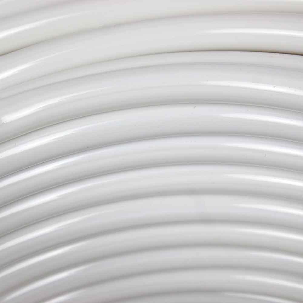 Rolo de Mangueira Branca para Chuveiro - 50 Metros - Imagem zoom