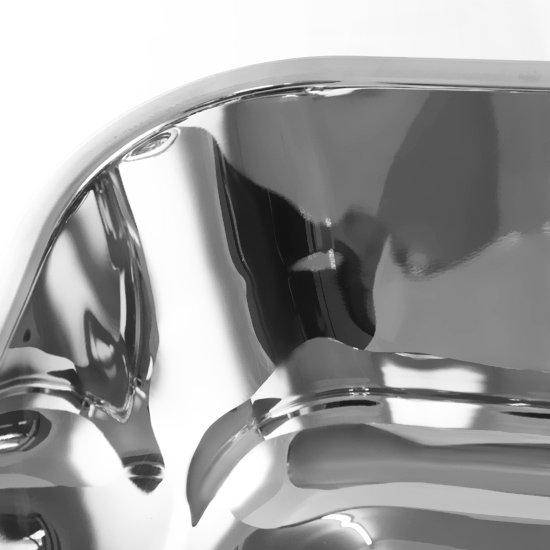 Cuba Retangular em Aço Inox 560 x 340 mm - Imagem zoom