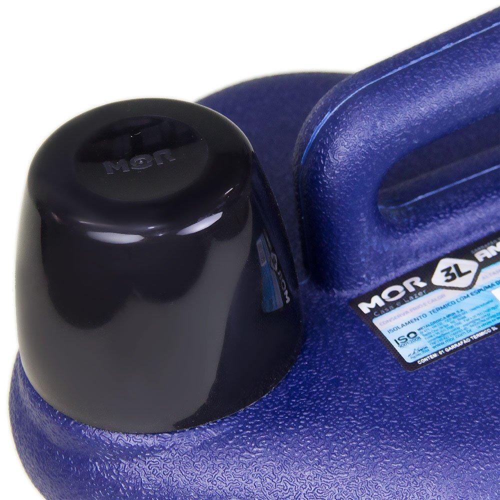 Garrafão Térmico Amigo 3 Litros Azul - Imagem zoom