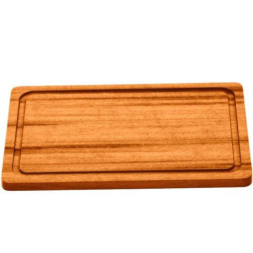 tábua para churrasco em madeira muiracatiara 300mm