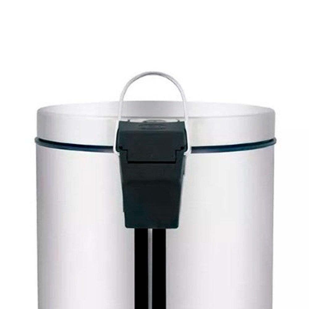 Lixeira de Inox Ágata com Pedal 3 Litros - Imagem zoom